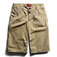 Wholesale Wholesale Shors - Wholesale- Grandwish Mens Khaki Cargo Shors 100% Cotton Breathable Mens Breeches with Pocket Zipper Fly Beach Shorts Men Summer ,DA078