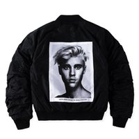 Wholesale Motors Jacket - Purpose Tour X Alpha MA-1 Jacket Men Justin Bieber Bomber Jakets Hip Hop Skate Fear of God Kanye Motor Alpha WWII Pilote Veste