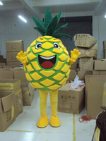 Wholesale Fancy Dress Materials - 2017 Easter pineapple Mascot Costume Adult Size Mascot Costume fancy dress Party Advertising and carnival Costume EPE material Free Shipping