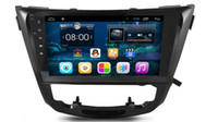 10.2 pollici Android 6.0 Car Dvd Gps Navi Audio per NISSAN X-TRAIL 2014 1024 * 600 OBD 1 GB Wifi 4G supporto Volante originale