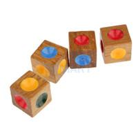 madera loco cuatro juguete juego tradicional casa de la familia jugar nios juguete educativo