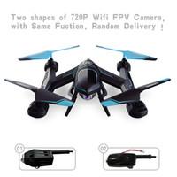 drones de caméra hubsan achat en gros de-2017 Meilleure Vente 720 P FPV Drone X8SW RC Quadcopter Hélicoptère 2.4G 4CH 6-Axe RC Hélicoptère Drones Peut Ajouter en temps réel 1.0MP HD Caméra