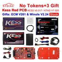 Wholesale Obd2 Programming Tool - 2017 Newest Best quality KESS V5.017 kess v2 5.017 Master obd ii OBD2 Manager ecu programming tools support online Hot sale
