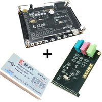 Wholesale Computer Downloads - Xilinx spartan 6 FPGA kit FPGA spartan 6 XC6SLX9 development board + Platform USB Download Cable+ WM8731 Audio Module