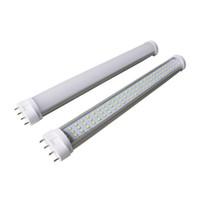 Wholesale T8 14w - Ultra bright 2G11 LED Tube Light Bulbs 10W 14W 18W 22w 4Pin LED light lamps 85-265V DHL free shipping