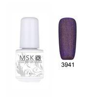 Wholesale matte led gel - Wholesale-MSK Gel polish 48 color matte Velvet soak off uv led gel nail polish nail art 5ml 3941