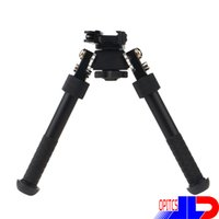 Wholesale 20 OFF new V8 Aluminum alloy Metal Foregrips Tripod degrees position Adjustable Bipod and QD Mount