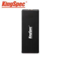 Wholesale Vista Interface - Wholesale- KINGSPEC M2 NGFF to USB3.0 Interface Hard Disk Box Solid State Drive Enclosure No memory for Win 8 7 VISTA XP MAC Linux UASP