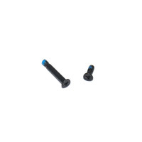 Wholesale A1342 Battery - 2Pcs Set New for MacBook Pro A1278 A1286 A1297 A1342 Battery Screws black triangle set of two screws 1 long and 1 short Contrast