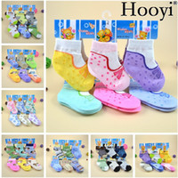 Wholesale Toddler Boy Pantyhose - Fashion Newborn Socks Unisex Baby Sock Toddler Stocking Children Pantyhose socks For Girl Boy Anti-slip Slippers pantufa Cotton Leggings