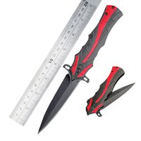 Atacado Red EDC Pocket Folding Knife Assisted Opening Tactical Survival Hunting Knife Outdoor Gear Camping Gift B94L