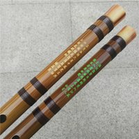 Wholesale Effective C - Free-shipping professional dizi Chinese bamboo flute musical instrument copper joint coffee wiring in Key C D E F G cost-effective price