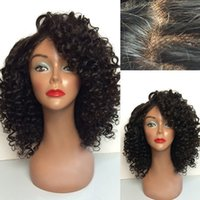 Wholesale Virgin Hair Full Lace Human Hair Wigs For Black Women Natural Human Hair Indian Kinky Curly Lace Front Wigs