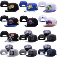 Wholesale Bugs Bunny Hat - 1996 Movie Space Jam Bugs Bunny Snapbacks Hats Tune Squad Adjustable Cap SHOHOKU #10 Snapbacks Caps Hat
