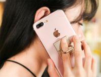 свободные кольца сотового телефона оптовых-Бесплатная доставка 360 градусов вращающийся вставить тип кольцо пряжки мобильный телефон таблетки общие крепления сотового телефона