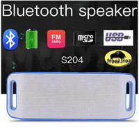 Wholesale Outdoor Sports Center - S204 Portable Bluetooth speaker For iPhone Galaxy iPad PC Tablet subwoofer sport outdoor home support TF card