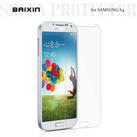 Wholesale Galaxy S4 Body - baixin Tempered Glass for Samsung S4 i9500 i9505 Explosion Proof Screen Protector for Galaxy S4 i9500 Screen Protective Film