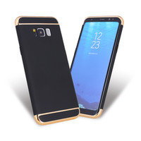 Wholesale Fashion electroplated PC cell phone case for Samsung S8 S8plus S7 S7edge S6 S6edge COVER CASE