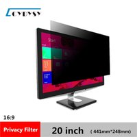Wholesale Computer Screen Film - 3M Quality 20 inch Computer Privacy Screen Protector Anti-glare Film Privacy Filter for 16:9 Widescreen Monitor 441mm*248mm