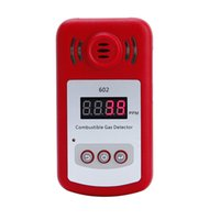 Wholesale Digital Combustible Gas - Wholesale- Mini LCD Digital Gas Leak Tester With Sound And Light Alarm Combustible Gas Concentration Detector Gas Analyzers