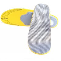 Wholesale Sports Insoles Shoes - Applicable to all kinds of sports shoes, mesh cloth, arch, flat, eight character, outer character correction insoles