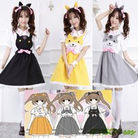 Women Cat Sweet Lolita Dress Game Costume Cosplay Girls Cat Backyard Kawaii Cute Anime Clothes With Ear
