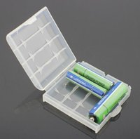 Wholesale Cheap Plastic Storage Boxes - 1000pcs amazing cheap price convenient Hard Plastic Case Cover Holder for AA AAA Battery Storage Box