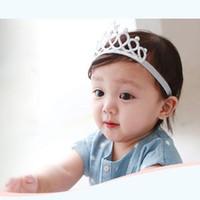 Wholesale Princess Photographs - Photograph Girls Princess Headbands Baby Headwear Hair Bands Bow Crown Toddler Kids Hair Accessories free shipping