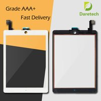 Touch Screen Digitizer Assembly Replacements Para iPad Mini 1 2 iPad 2 3 4 iPad Air 1 2 Com botão Home Cor branca