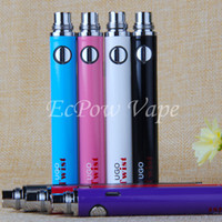EVOD variable tension vape batterie ugo twist 650 900 mah tension réglable ecig vaporisateur real china supplier direct par ePacket