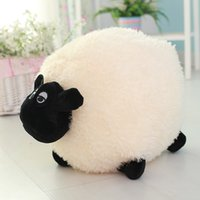 Wholesale Shaun Sheep Gifts - Shaun The Sheep Plush Dolls Baby Toys Sheep Cushion Pillow Dolls Stuffed Soft Plush Toys Kids Gifts SA1546