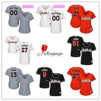 black moore - cheap Women custom Miami Marlins Dee Gordon Black Tyler Moore Gray J T Riddle Orange Miguel Rojas White Jerseys
