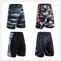 Wholesale Thin Plaid - Summer Bryant James Durant shorts sports and leisure thin section 5 pants men loose camouflage beach pants