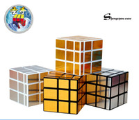 Wholesale Wholesale Big Mirrors - MOQ 1pcs Hot selling Shengshou Mirror Speed Magic Cube Drawing Cube Rubik Cube