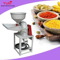 Wholesale Herb Grinding Machine - 9FZ-21 Corn Crusher Corn Flour Mill Chilli Powder Machine Price Chilli Grinding Machine Dried Herbs Grinder Hammer Mill