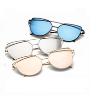 Wholesale Sunglasses Ultralight - Ultralight Protection Polarized Aviator Sunglasses for Women Girl Reflective Sunglass
