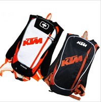 Wholesale Bicycle Bag Tools - New KTM Motorcycle Bag Motocross Offroad Racing Backpack with TPU Water Bag Bike Bicycle Sport Luguage Pack