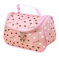 Wholesale Ladies Accessories Holders Wholesale - Wholesale- 2017 New Zipper Cosmetic Bag Lady Travel Organizer Accessory Toiletry Cosmetic Make Up Holder Case Bag Pouch Gift Free S386