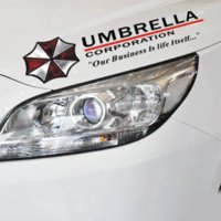 Wholesale Evil Decal Sticker - Cool Resident Evil The Umbrella Chronicles Car sticker covers on car lights brow decal universal car styling stickers