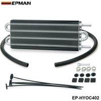 ölkühler großhandel-EPMAN-Universeller 4-reihiger Aluminium-Ölkühler mit Fernschaltgetriebe, manuelles Kühlerset 402 OC-1402, 2.500 lbs EP-HYOC402
