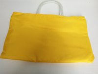 Wholesale Black Bag Yellow Handles - Hot sales Large gy totes Fashion brand designer handbag Top quality Soft canvas tote shopping bag leather handle composite with small pouch