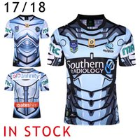 Wholesale S XL Maillot New Zealand The Sharks Rugby Jersey NRL National Rugby League Cronulla Sutherland The Sharks Rugby Shirts