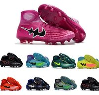 Wholesale New Arrival Magista Obra II Men s Football Boots With ACC Mens Soccer Shoes Man Sneakers Soccer Cleats Outdoor Soccer Boots Football Shoes