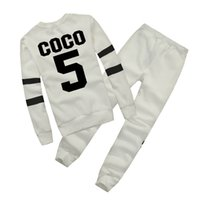Wholesale White Blouse Long Sleeve Women - Hot Europe brand Autumn Winter Fashion Women Sweater Jogger Sport Tracksuit Fleece Sweatshirt Hoodies Blouse Plus Pants Suit