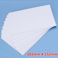 Wholesale Photographic Inkjet Paper - 50 Sheet  Lot High Glossy 4R Photo Paper For Inkjet Printer Photographic Quality Colorful Graphics Output Album covers ID photo