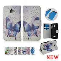 Wholesale Boost Cards Wholesale - wallet Case PU Leather For ZTE Blade Z Max Z982 Metropcs For Coolpad Defiant 3632 Metropcs Moto E4 Metropcs Boost A