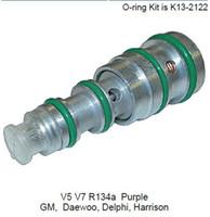 Wholesale Delphi Auto - V5 V7 R134a Auto ac Compressor Control Valve for GM Daewoo Delphi Harrison V5 V7 R134a Purple