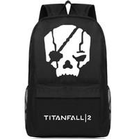 Wholesale Pack Women Game - Titanfall backpack Shoot daypack IMC FPS titan fall schoolbag Game rucksack Sport school bag Outdoor day pack