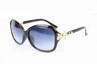 Wholesale alloy fox - Luxury Brand Sunglasses Diamond Metal Fox Shape Sunglasses Fashion Women Brand Designer Sun Glasses Lunettes De Soleil Femeninos