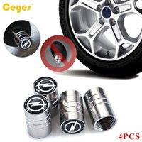 Wholesale Opel Astra Cap - Car Wheel Tire Valves Tyre Stem Air Caps Cover case Car Emblems for Opel astra h g mokka vectra Car Accessories Styling